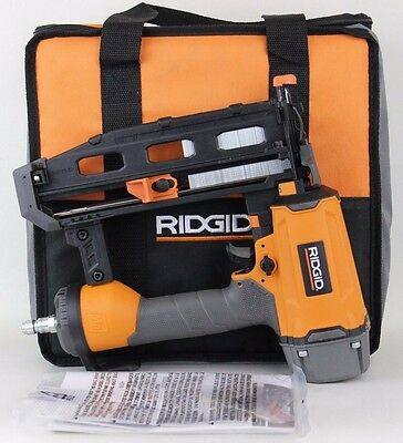 "Ridgid 16-Gauge 2-1/2"" Straight Finish Nailer R250SFE"
