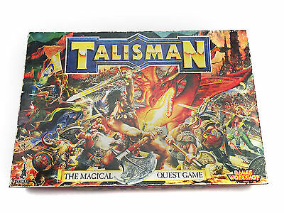 Talisman 3rd Edition + CIty of Adventure + Dungeon of Doom Games Workshop