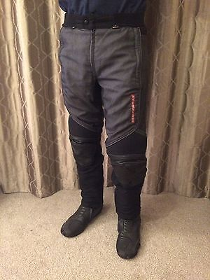 Hein Gericke Leather/Textile Motorcycle Trousers/Jeans