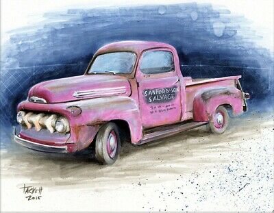 SANFORD AND SON Art Print By Billy Tackett