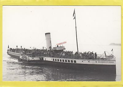 BOURNEMOUTH QUEEN 1908 Southampton Isle of Wight Railway steamer -   Photograph