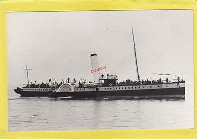 CAMBRIA 1895 P & A  Campbell paddle steamer  -    Photograph