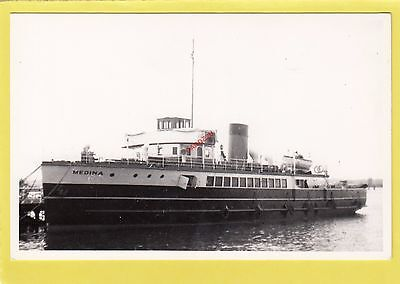 MEDINA 1931 Red Funnel ferry - F.W. Hawks  Photograph