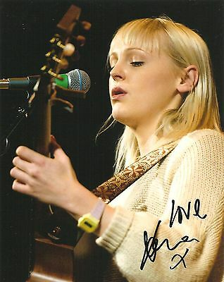 Laura Marling Signed 8X10 Photo Proof Coa Autographed