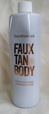 Bareminerals Faux Tan Body Sunless Tanner Sealed 16 Oz New Jumbo Size
