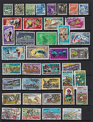 nigeria Attractive Stamp Selection Mint and Used 2 SCANS (NI10022)
