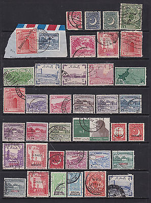 Parkistan - Large Stamp Selection with Useful Duplicates 3 SCANS (11021)