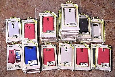 Bulk Lot of 41 MUVIT Cell Phone Cases for Samsung Motorola HTC LG - All NIB