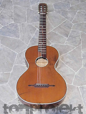 fine historic all solid parlor parlour GUITAR Gitarre guitare Germany 1930s
