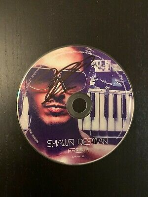 Shawn Desman Signed Cd Disk Exact Proof Coa Autographed Fresh Shiver