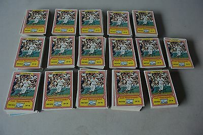 1981 Topps Drake's Baseball Complete 33 Card Set Lot of 16 Sets Nice Condition!