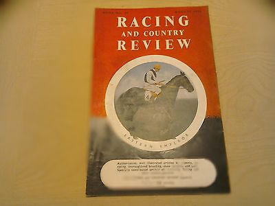 Racing and country Review August 1952