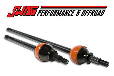 RCV PERFORMANCE Ultimate Dana 30 Front CV Axle Set - 07+ Jeep Wrangler JK JKU