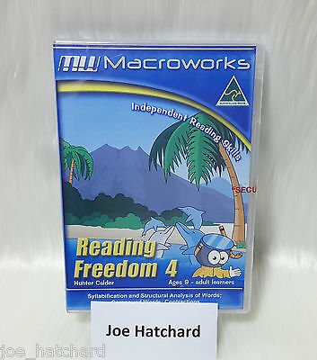Macroworks Reading Freedom 4 Independent Reading Skills Ages 9 - Adult Learners
