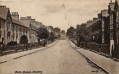 Park Avenue, Oswestry. c1911. Unposted.