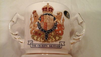 AYNSLEY ROYAL COMMEMORATIVE MUG, 90th BIRTHDAY OF  QUEEN MOTHER- 4TH AUGUST 1990