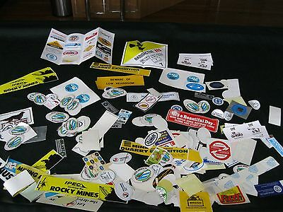 Mining Stickers - Huge Collection - some over 30 years old!