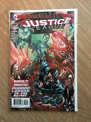 Justice League #27 Forever Evil Tie in (NEW 52)