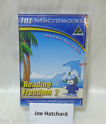 Macroworks Reading Freedom 2 Independent Reading Skills Ages 8 - Adult Learners
