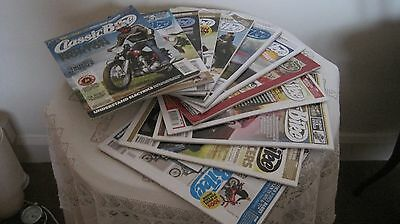 12 Editions of Classic Bike Magazine from 2008