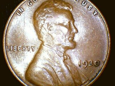 1930P Lincoln Wheat Penny Cent, Nice Coin!
