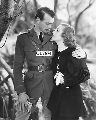Gary Cooper and Joan Crawford in the Movie 'Today We Live' Photo