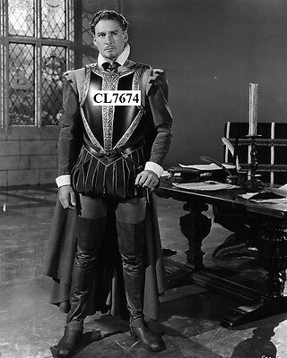 Errol Flynn in the Movie 'The Private Lives of Elizabeth and Essex' Photo