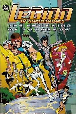 Legion of Super-Heroes (1989 series) The Beginning of Tomorrow TPB #1 in NM cond