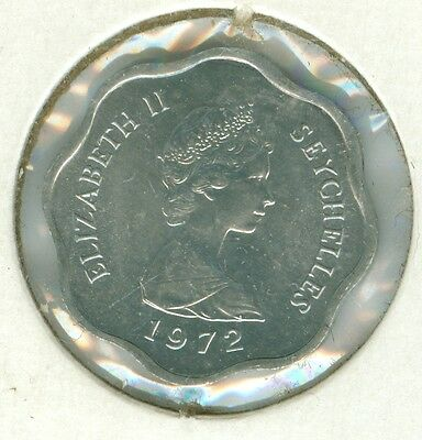 Seychelles 1972 Five Cents--Uncirculated