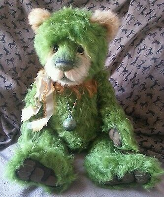 CHARLIE BEARS MERENGUE limited edition mohair bear with bag and tag