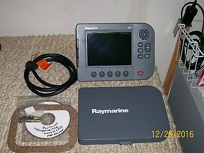 Raymarine A70 Gps Plotter Mfd With Manuals, Cables..