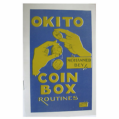 Okito Coin Box Routines by Mohammed Bey Magic Trick Book