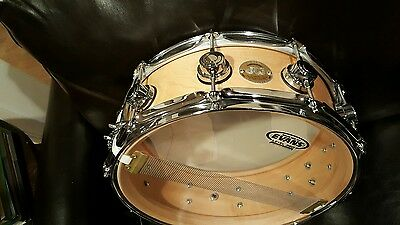 DW solid shell snare 14x5