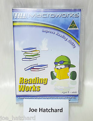 Macroworks Reading Works Improve Reading Ability Home EDITION - Ages 5 - Adult