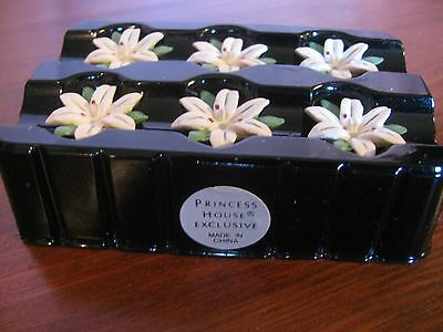 Princess House Floral Candle Pins Lily (6) NEW 2526