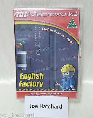 Macroworks English Factory - English Grammar Skills - Ages 5 - 13+