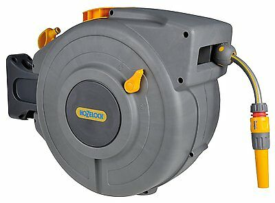 Hozelock Auto Reel With 20m Hose - Wall Mounted