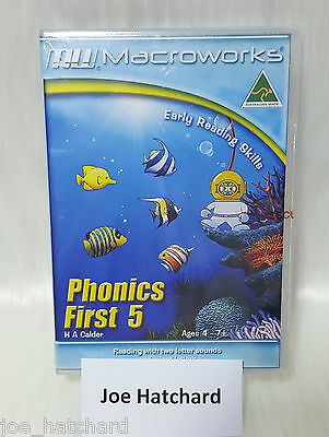 Macroworks Phonics First 5 - Early Reading Skills - Ages 4 - 7+