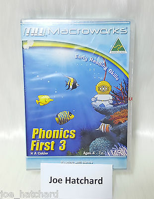 Macroworks Phonics First 3 - Early Reading Skills - Ages 4 - 7+