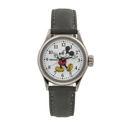 NEW Disney by Ingersoll 25570 Ladies Mickey Mouse Grey Watch
