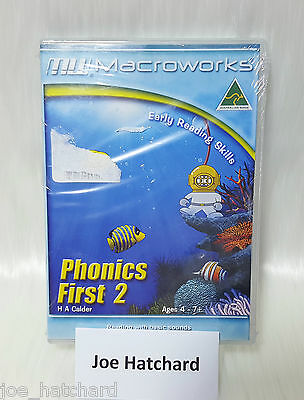 Macroworks Phonics First 2 - Early Reading Skills - Ages 4 - 7+