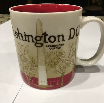 Starbucks 2011 WASHINGTON DC Ceramic 16 Ounce Mug City Collector Series