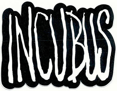 Incubus A Crow Left Of the Murder RARE promo sticker '04