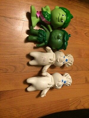 advertising lot Of Pillsbury And Green Giant Little Spout Dolls