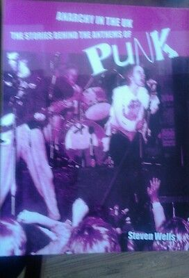 Sex pistols.Anarchy in the uk..Book.punk