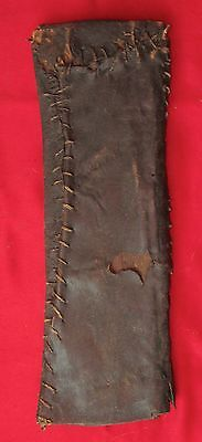 Old African Wood /Leather Scabbard