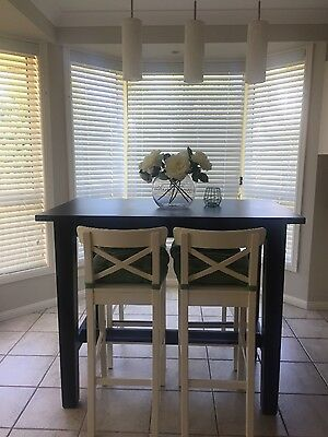 Shabby Chic Table and Stools