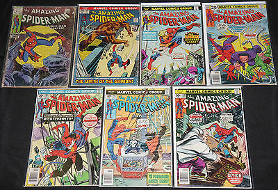 Marvel Bronze Age AMAZING SPIDER-MAN 31pc Count Low Grade Comic Lot READERS