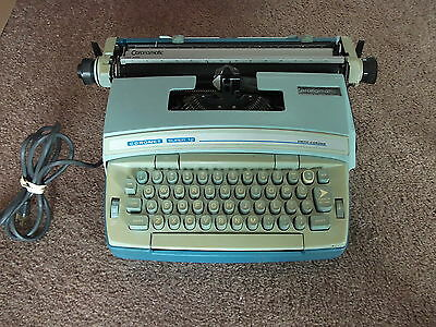 Antique Smith-Corona Coronet Super 12 Electric Typewriter w/ Case