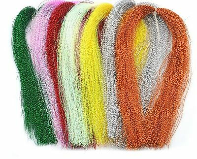 7x Crystal Flash Fly Tying Material BULK Wholesale MUST READ DESCRIPTION PLEASE